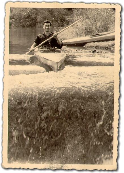 Kanu-Urgestein - Rudolf Frieser 1960